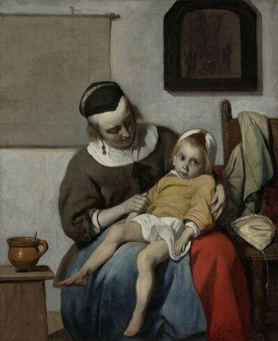Gabriel Metsu, 'The Sick Child', ca. 1664-1666