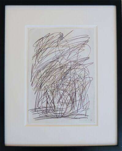 Oscar Murillo (b. 1986), 'Untitled (ICA Benefit Dinner Menu)', 2013