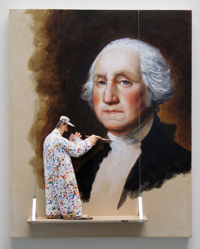 Stephen Hansen, 'George Washington - Stuart '