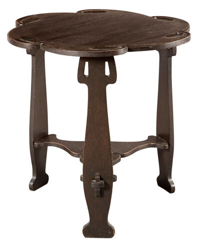 Charles Rohlfs, 'Arts and Crafts Oak Occasional Table'