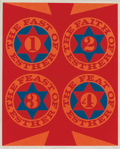 Robert Indiana, 'Purim: The Four Facets of Esther (II)', 1967