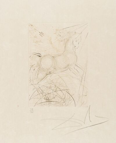 Salvador Dalí, 'Pegasus (from Quinze Gravures) (M&L 291b; Field 68-4-A)', 1968