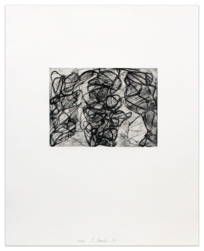Brice Marden, 'After Botticelli I'