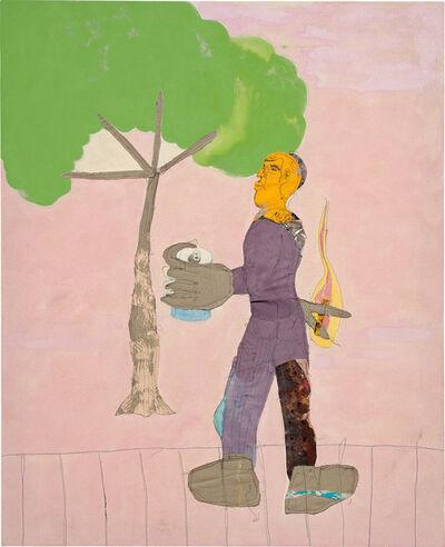 Tschabalala Self, 'Trees', 2017