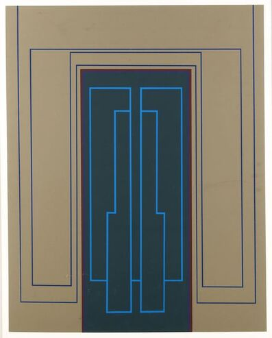 Robyn Denny (1930-2014), 'Outline 3'