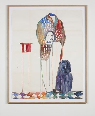 Ulla von Brandenburg, 'Mann ohne Kopf (Man without head)', 2015