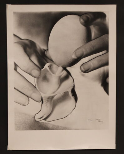 Man Ray, 'L'oeuf et le coquillage ', created in 1931 and printed in 1973