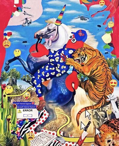 Philip Colbert, 'Desert Hunt Study', 2017