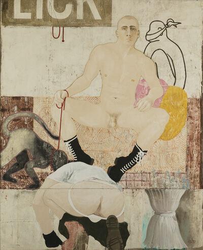 Attila Richard Lukacs, 'Licky', 1990