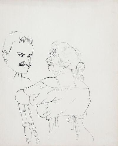 George Grosz, 'Uomo e donna', 1922