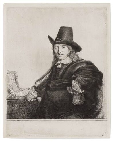 Rembrandt van Rijn, 'Jan Asselyn, Painter (B., Holl. 277; H. 227)', 1647
