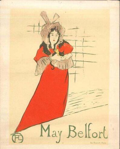Henri de Toulouse-Lautrec, 'May Belfort (After H. de Toulouse-Lautrec)', 1951