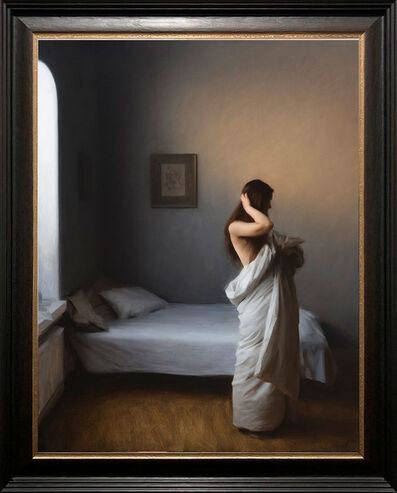 Nick Alm, 'Leaving The Bed', 2020