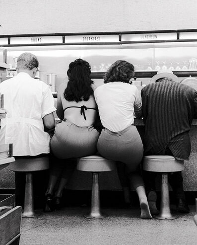 Julian Wasser, 'Two Girls in Hollywood at Lee Drugs'