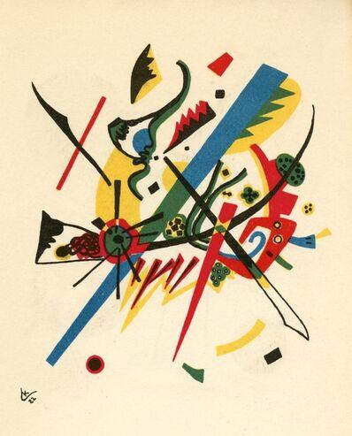 Wassily Kandinsky, 'Kleine Welten I', 1954