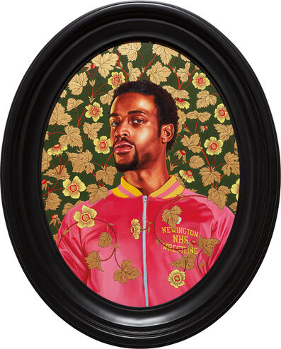 Kehinde Wiley, 'Portrait of Garrett Gray', 2017