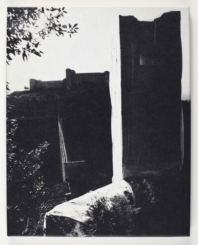 Christo, 'Packed Tower - Spoleto (proposals & projects)', 1970