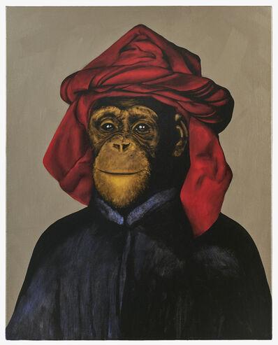 Stefan à Wengen, 'Le Singe Peintre XXVIII', 2019