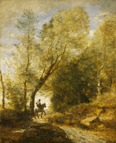 Jean-Baptiste-Camille Corot, 'The Forest of Coubron', 1872