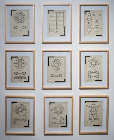 Lionel Favre, 'Kette (1-9)', 2016