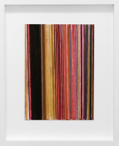 Vicky Christou, 'Color Study, Yellow Ochre/Purple', 2014