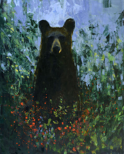 Rebecca Kinkead, 'Black Bear with Berries', 2019