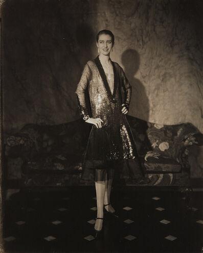 Edward Steichen, 'Chéruit Gown (Marion Morehouse) (Mrs. E.E. Cummings)', 1927