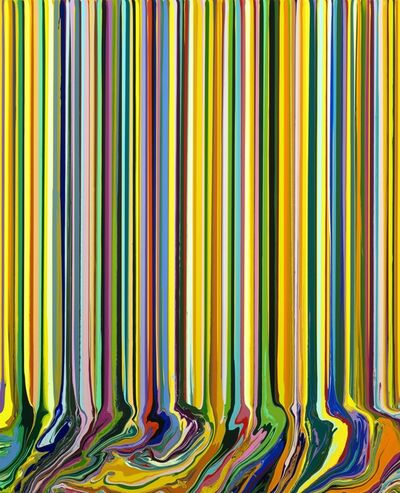 Ian Davenport, 'Yellow Portrait (Madame) ', 2017
