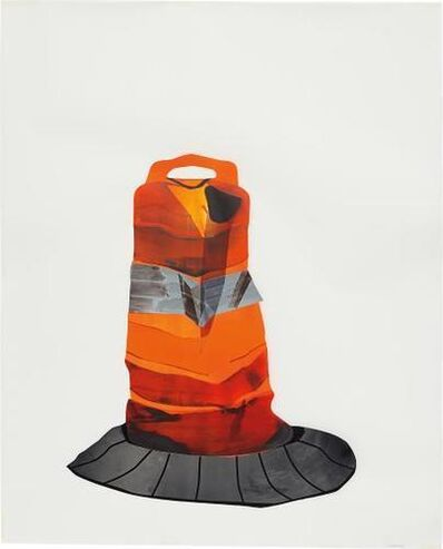 Kristin Baker, 'Dirty Orange Cone #11', 2005