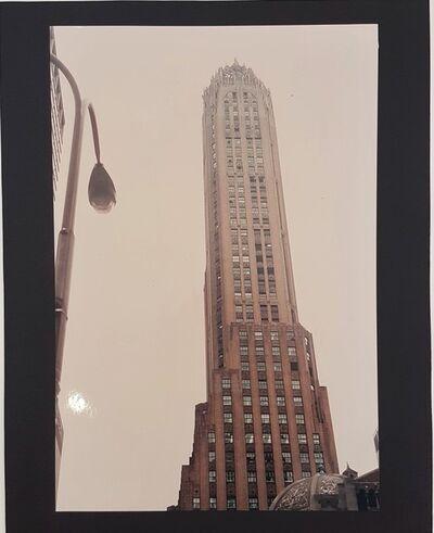 Wolff Buchholz, 'Manhattan - 20s Architecture', 1990