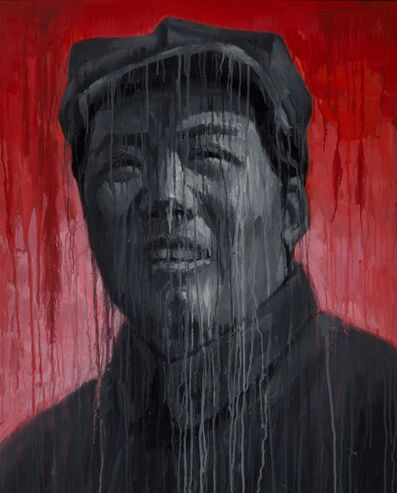 Sheng Qi, 'Mao-Red and Black', 2007