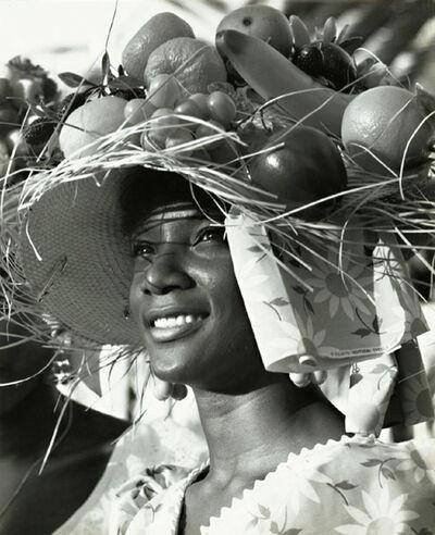 Fritz Henle, 'Fruit Vendor, St. Croix Carnival', 1960s