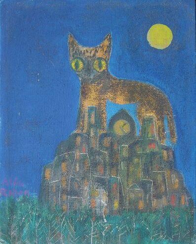 Alice Rahon, 'Gato Nocturno'