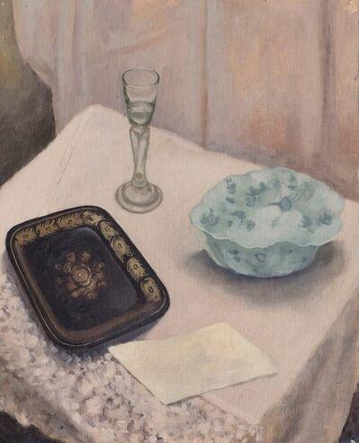 Guglielmo Janni, 'Natura morta con bicchiere di vetro', 1933