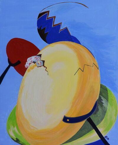 Traute Macom, 'one egg arising', 2015