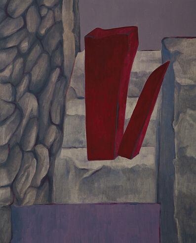 Marilena Preda Sanc, 'Modules inside the landscape II', 1980