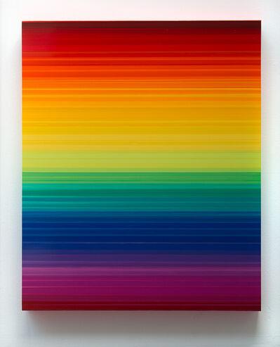 Thierry Feuz, 'Technicolor Horizon I', 2019