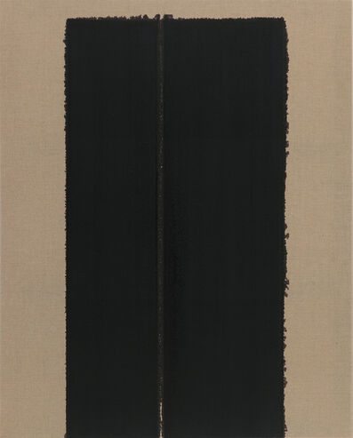Yun Hyong-keun, 'Burnt Umber & Ultramarine Blue', 2003