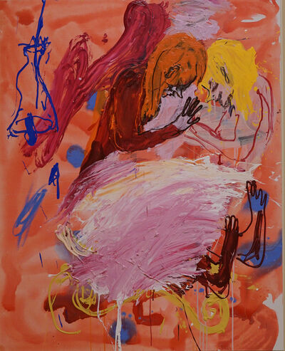 Cristina de Miguel, 'Mantita rosa', 2021