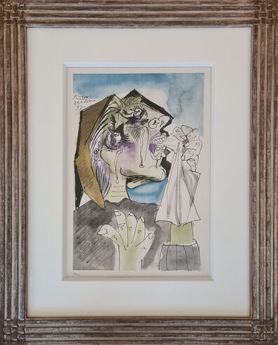 Pablo Picasso, 'Weeping woman, 1937 after Picasso', 1946