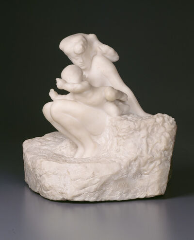 Auguste Rodin, 'Woman and Child (originally Première Impression d'Amour)', ca. 1885 (model), ca. 1900 (carved), 1901