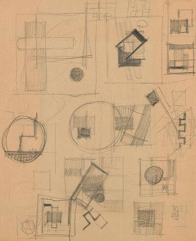 Friedrich Vordemberge-Gildewart, 'Study (D30)', ca. 1925