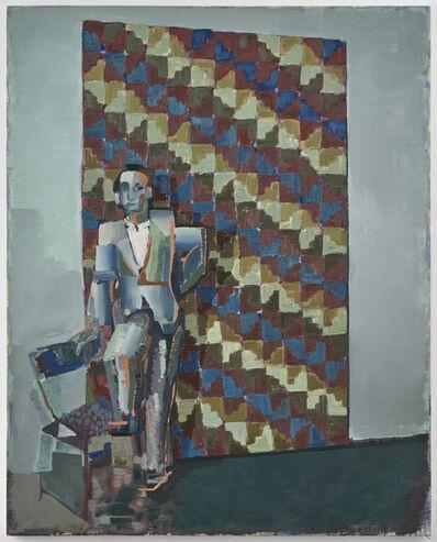 Iosu Aramburu, 'Architect and wari textile', 2020