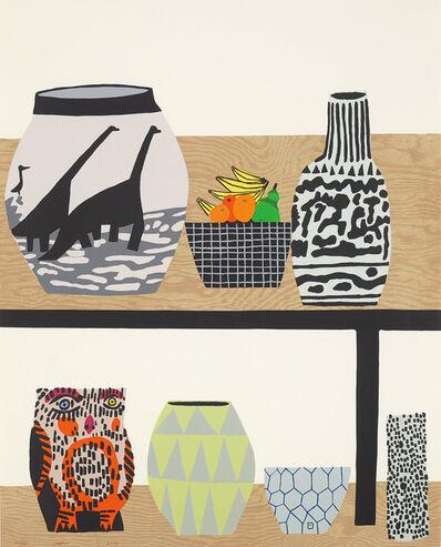 Jonas Wood, 'Shelf Still Life', 2018