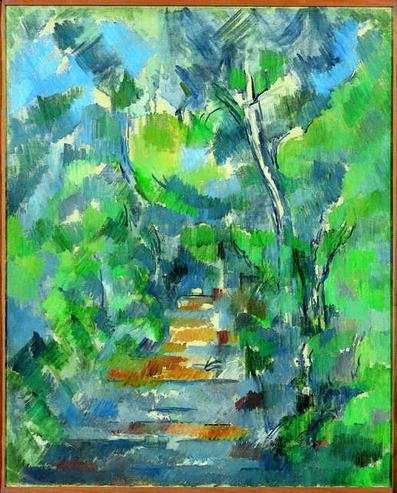 Paul Cézanne, 'Sous-bois (Chemin du Mas Jolie au Château noir)(Forest Scene, Path from Mas Jolie to Château noir)', 1900-02