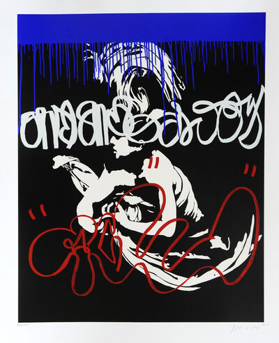 Blek le Rat, 'Death of Caravaggio', 2008