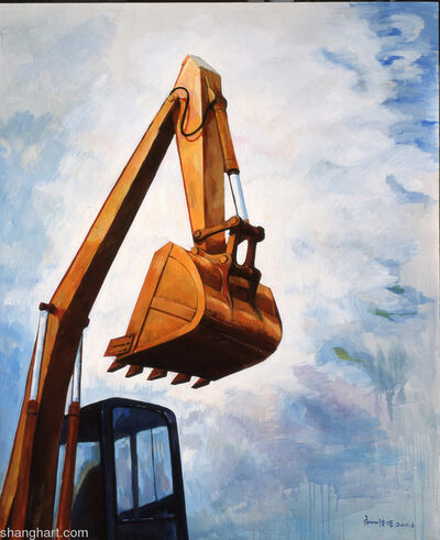Liu Weijian, 'Excavater 挖掘机', 2011