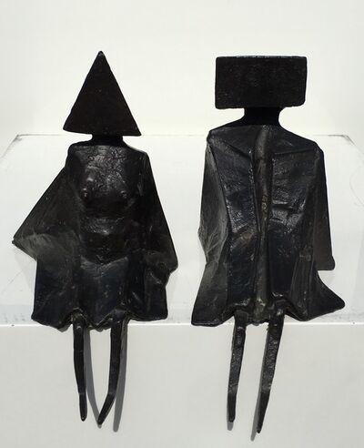 Lynn Chadwick, 'Sitting figures', 1976