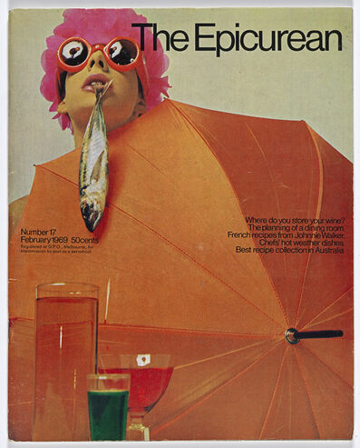Les Mason, 'Epicurean Magazine Cover Design Number 17', 1969
