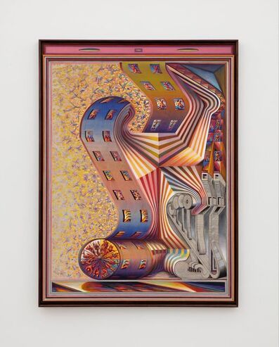 Zach Harris, 'Manzanita's Maze / Zodiac Harpsichord', 2019-2021